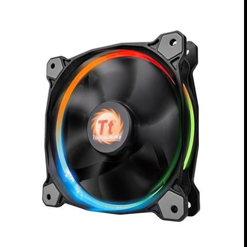Система охолодження Thermaltake RIing 14 (3 Fan Pack) (CL-F043-PL14SW-B), мініатюра №1
