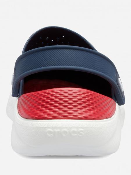 Сабо Crocs Literide Clog 42-43 26.3 см Синий Красный 204592-4CC-M9/W11 NAVY/PEPPER, мініатюра №6