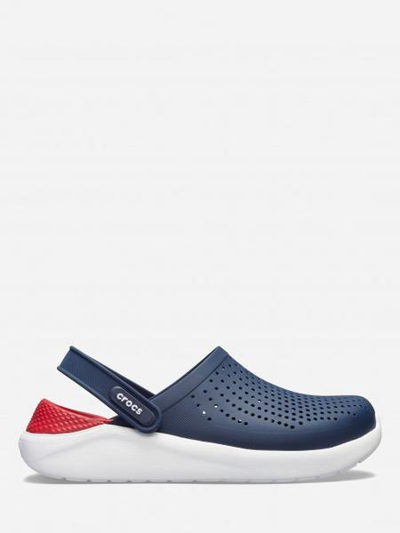 Сабо Crocs Literide Clog 42-43 26.3 см Синий Красный 204592-4CC-M9/W11 NAVY/PEPPER, мініатюра №3