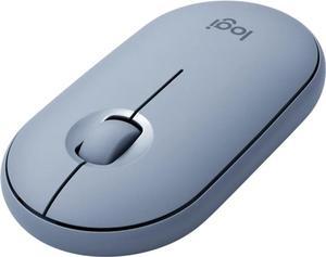 Мышь беспроводная Logitech Pebble M350 (910-005719) Blue Grey USB