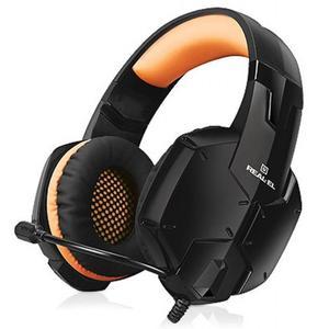 Навушники REAL-EL GDX-7700 SURROUND 7.1 black-orange (EL124100016)