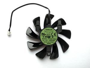 Вентилятор Everflow для видеокарты Sapphire T129215SU (T129215BU) (№170)