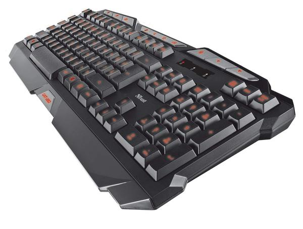 Клавіатура Trust GXT 280 LED Illuminated Gaming Keyboard (GXT 280 19470), мініатюра №4