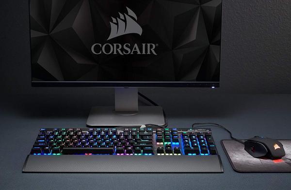 Клавіатура Corsair  K70 RGB RAPIDFIRE (FR) (CH-9101014-FR), мініатюра №3