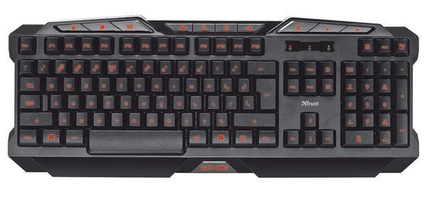 Клавіатура Trust GXT 280 LED Illuminated Gaming Keyboard (GXT 280 19470), мініатюра №3