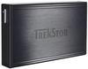 """Зовнішній жорсткий диск Trekstor DataStation pocket t.ub 500ГБ 2.5"""" USB 2.0 External black TS25-500PTUB, мініатюра №1"""
