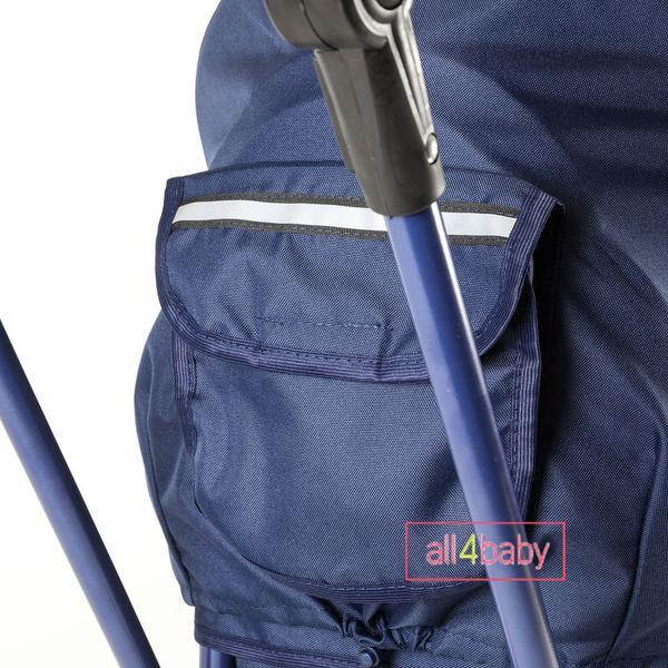 Санки Adbor Piccolino DeLux Полный комплект санок Синий, мініатюра №4