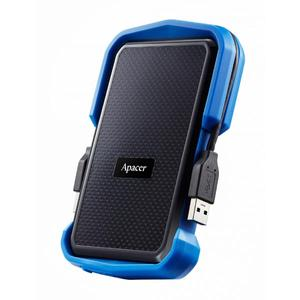 """Зовнішній жорсткий диск Apacer USB 3.1 Gen1 AC631 1TB 2 5"""" чорно-синій AP1TBAC631U-1"""