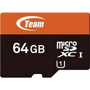 Карта памяти Team 64Gb microSDXC class 10 (TUSDX64GUHS03)