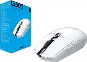 Мышь беспроводная Logitech G305 (910-005291) White USB