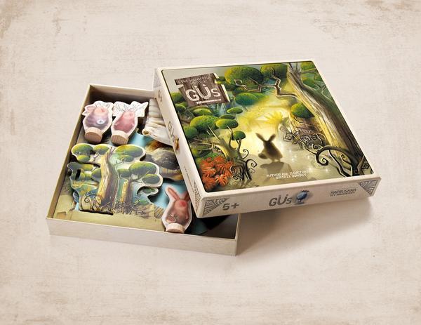 Marbushka Настольная игра Марбушка Волшебный мир Гю (Gus) (MG011), мініатюра №1