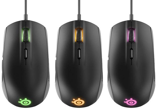 Мишка Steelseries Rival 100 USB Black (SS62341), мініатюра №7
