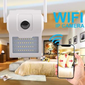 Уличная настенная IP WI FI камера видеонаблюдения светильник D2 2 mp