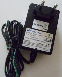 Блок питания FSP Group INC. 12V 1.5A штекер 5.5 x 2.5 (FSP018-1AD401)