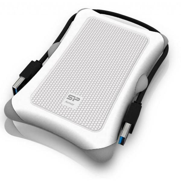"""Зовнішній жорсткий диск Silicon Power 2ТБ 2.5"""" USB 3.0 білий SP020TBPHDA30S3W, мініатюра №2"""