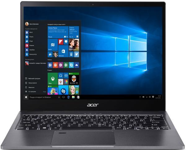 """Ультрабук 13,3"""" Acer Spin 5 SP513-52N-58WW Steel Gray, мініатюра №2"""