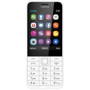 Кнопочный телефон Nokia 230 Dual Silver (A00026972)