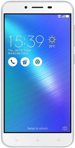 Смартфон Asus ZenFone 3 Max 3-32 Gb silver ZC553KL-4J034WW, мініатюра №1