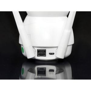 Поворотная IP камера видеонаблюдения WiFi microSD JORTAN 8166