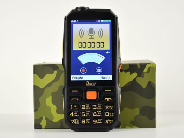 Мобильный телефон Dbeif D2017 Black, мініатюра №5