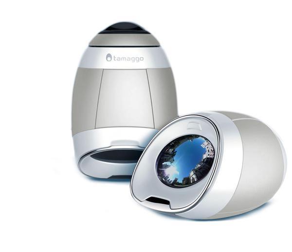 Камера відеоспостереження Tamaggo 360 with live stream  (White Pearl), мініатюра №1