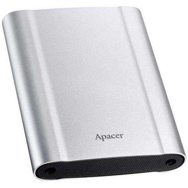 """Зовнішній жорсткий диск Apacer 2ТБ 2.5"""" USB 3.1 silver AP2TBAC730S-1, мініатюра №2"""