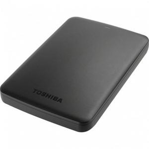 """Зовнішній жорсткий диск Toshiba 2.5"""" USB 1.0TB Canvio Basics black HDTB410EK3AA"""