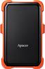 """Зовнішній жорсткий диск Apacer 2ТБ 2.5"""" USB 3.1 чорний помаранчевий AP2TBAC630T-1, мініатюра №1"""
