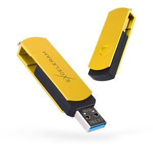USB флеш-накопитель Exceleram 32GB P2 Series Yellow2/Black USB 3.1 Gen 1 (EXP2U3Y2B32)