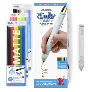 3D-ручка 3Doodler Create PLUS  для проф. использования - БЕЛАЯ (75 c (8CPSWEEU3E)