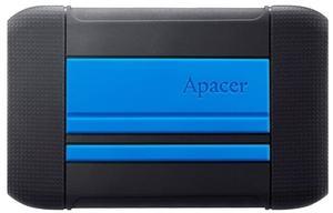 """Зовнішній жорсткий диск Apacer 2.5"""" USB 3.1 1TB AC633 IP55 blue"""
