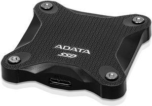 Внешний твердотельный накопитель ADATA SD600Q USB3.1 Durable External SSD 240GB черный
