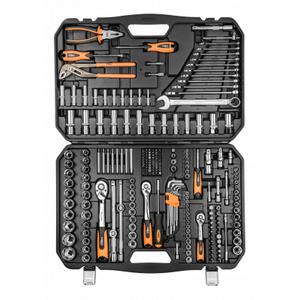 """Набор инструментов NEO tools сменных головок 1/2 """", 3/8"""", 1/4 """"233 шт. (08-681)"""
