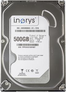 """Внутрішній жорсткий диск I.norys 2 5"""" 500GB 5400rpm 8MB INO-IHDD0500S2-N1-5408"""