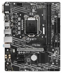Материнська плата MSI H410M Pro-E s1200 Intel H410 mATX 6693110