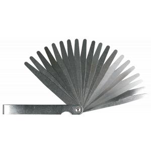 Набор инструментов Topex щупов измерительных 0,05 до 1 мм, 20 пластин, шаг  (97X272)