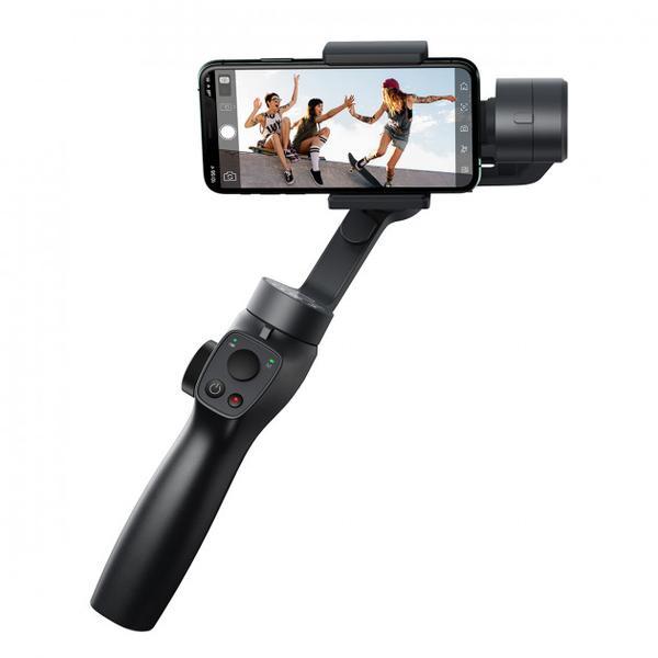 Стедікам Baseus Control Smartphone Handheld Gimbal Stabilizer Black (SUYT-0G), мініатюра №1