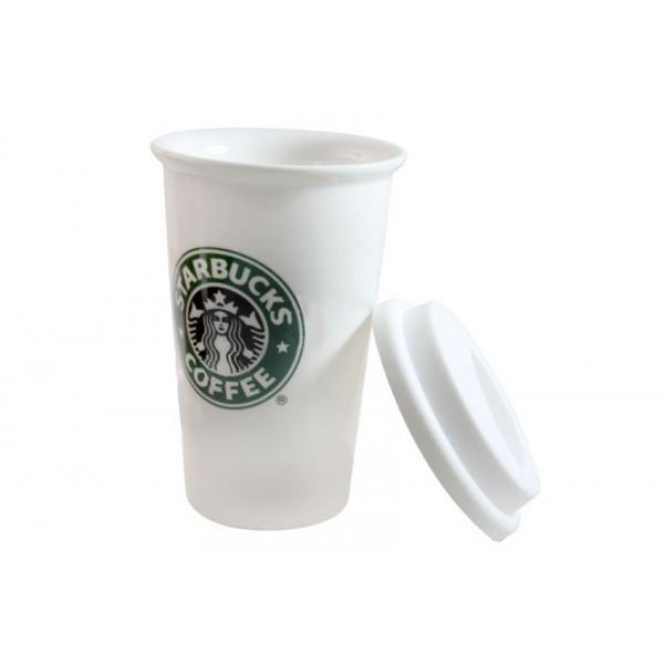 Стакан StarBucks Ceramic Cup HY-101, мініатюра №1