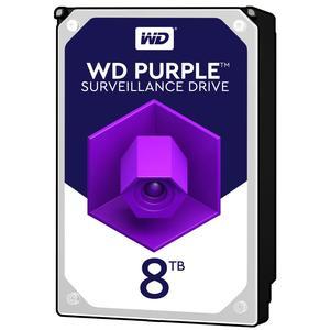 Внутрішній жорсткий диск Western Digital 8TB 7200 обертів в хвилину 256 MB SATA III WD82PURZ