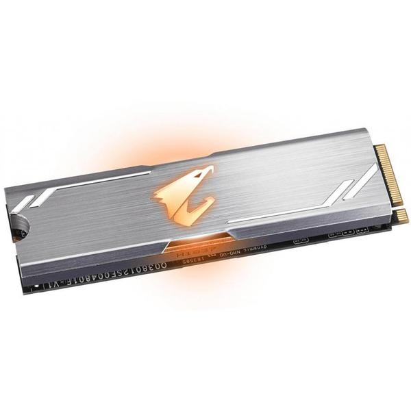 Внутренний накопитель Gigabyte 512 ГБ M.2 PCI-E 3.0 x4 3D TLC GP-ASM2NE2512GTTDR, мініатюра №2