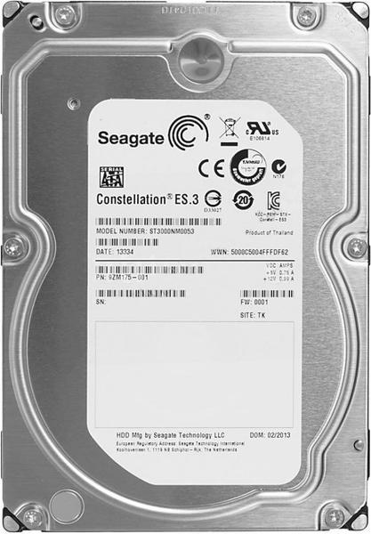 """Внутрішній жорсткий диск Seagate Constellation ES.3 3ТБ 7200 обертів в хвилину 128МБ 3.5"""" SATA III ST3000NM0053, мініатюра №1"""