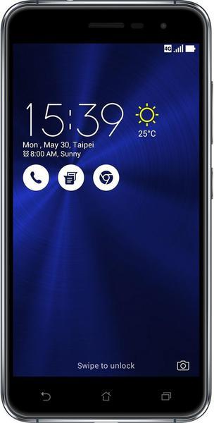 Смартфон Asus ZenFone 3 4-32 Gb sapphire black ZE520KL, мініатюра №1