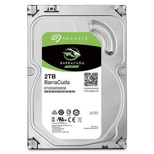 Внутрішній жорсткий диск Seagate HDD SATA 2.0TB BarraCuda 256MB ST2000DM008