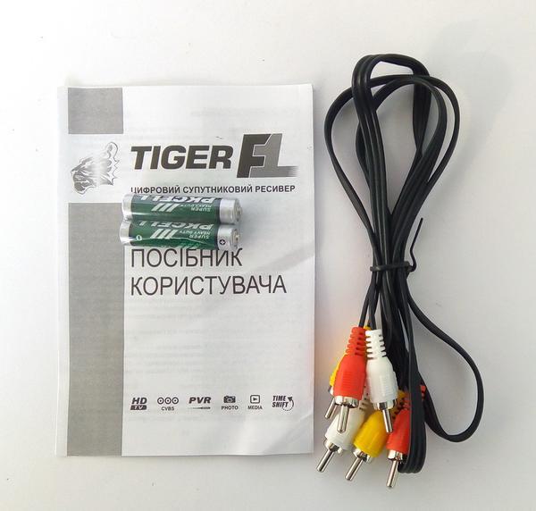 Спутниковый ресивер Tiger F1 HD , мініатюра №4