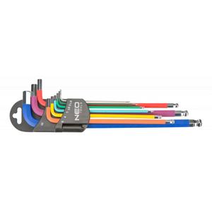 Набор инструментов Neo ключи шестигранные, 1.5-10 мм, набор 9 шт.*1 уп. (09-512)