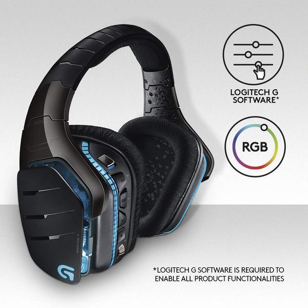 Навушники Logitech G933 Gaming Wireless (981-000599), мініатюра №10