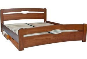 Кровать МИКС-Мебель Односпальная  Каролина с ящиками 90*190 Светлый орех  (71264)
