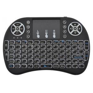 Беспроводная русская клавиатура с тачпадом Rii mini i8 Подсветкой