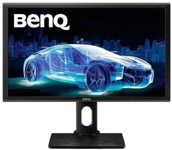 Монітор BenQ PD2700Q IPS 27'' WQHD black 9H.LF7LA.TBE, мініатюра №1