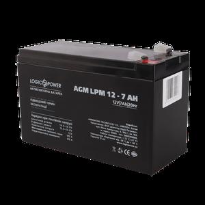 Акумулятор кислотний AGM LogicPower LPM 12 7,0 AH